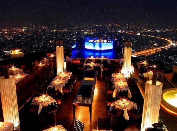 Sirocco, Bangkok – locul ideal pentru o cina romantica