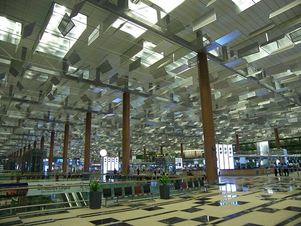 Singapore-airport-architecture-modern