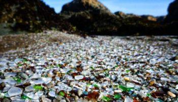 plaja de sticla