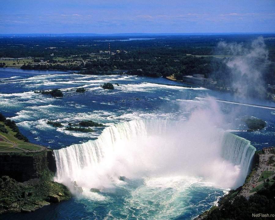 Cascada Niagara una din minunile naturii