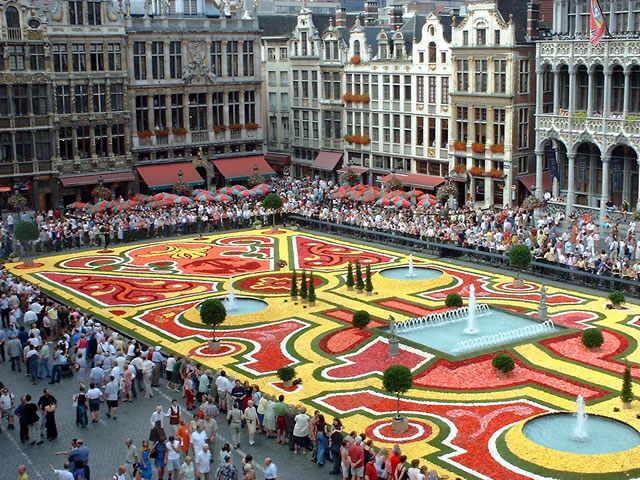Bruxelles – una din cele 3 capitale ale Europei