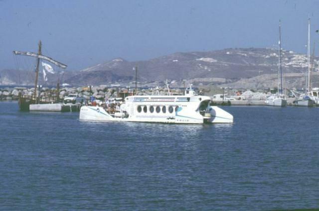 submarin santorini