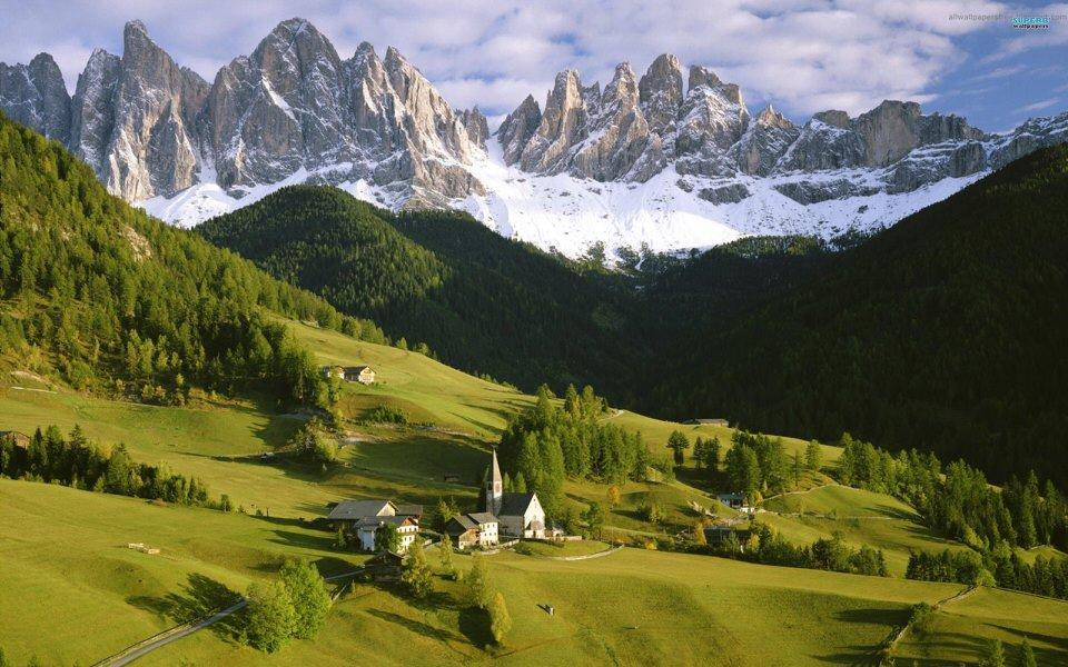 Tirol – regiunea care se mandreste cu cea mai buna panorama a Alpilor!