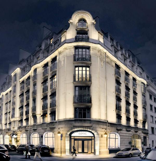 S-a redeschis Hotel Sofitel din Paris !