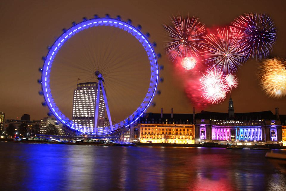 Anul acesta sarbatorim Revelionul la Londra !