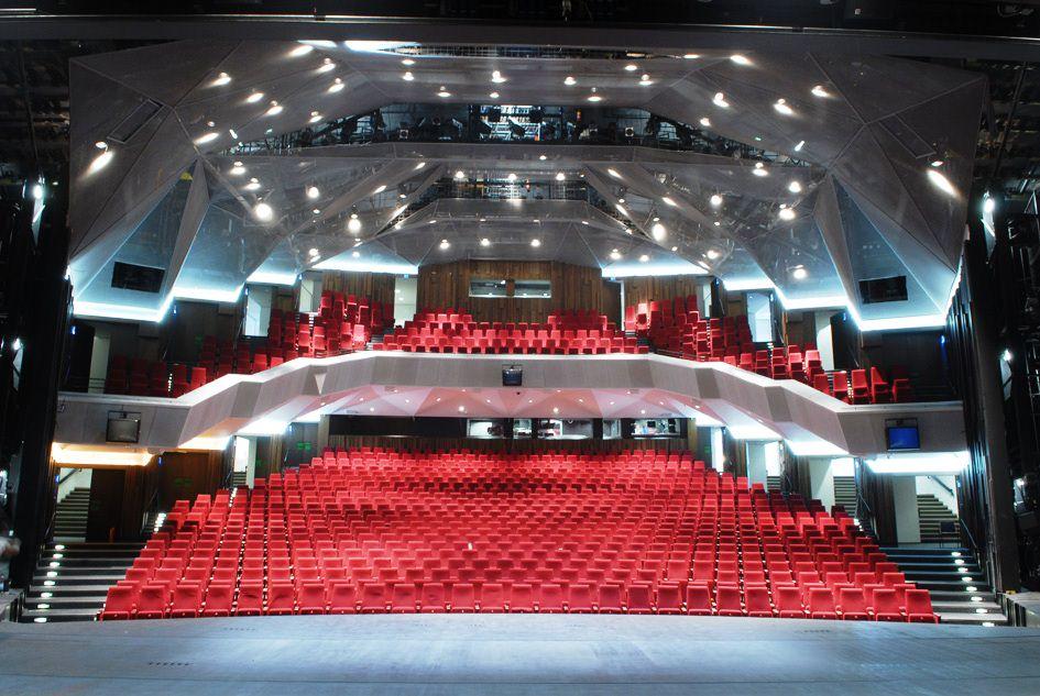 Staatstheater Darmstadt, Zuschauerraum Großes Haus