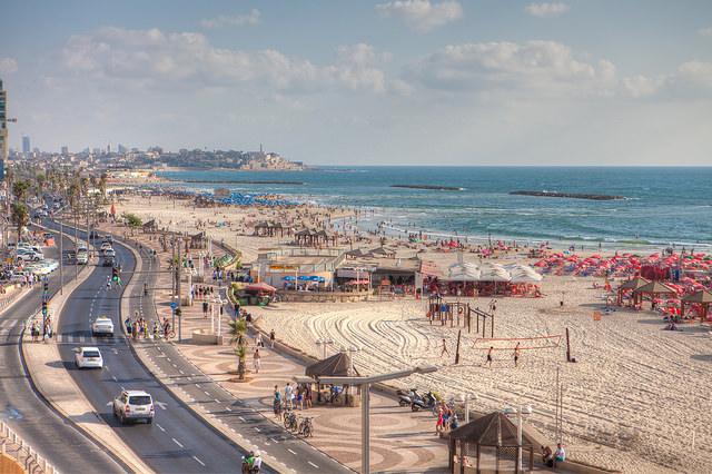 Tel-Aviv-plaja