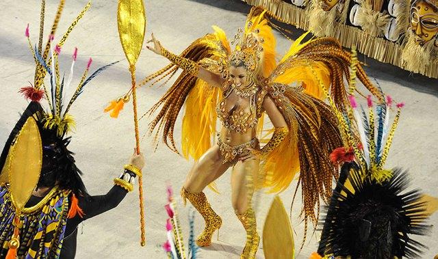 Carnival in Rio de Janeiro; Parade