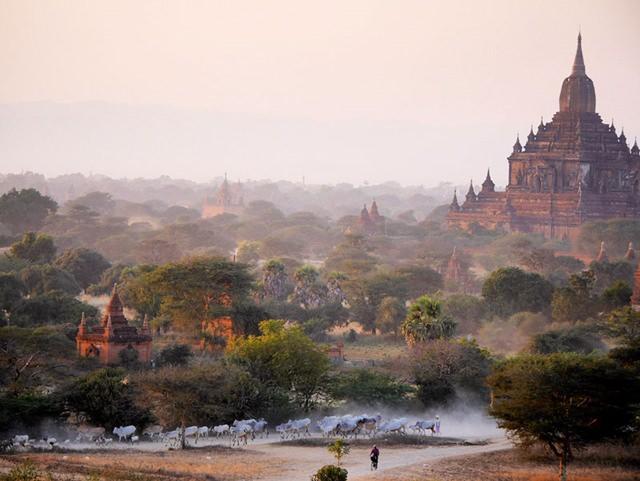 Bagan-Myanmar  locurile frumoase