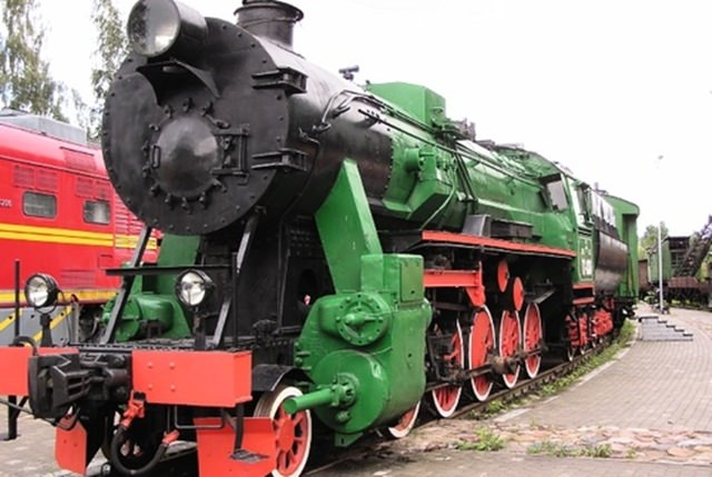 muzeul feroviar riga