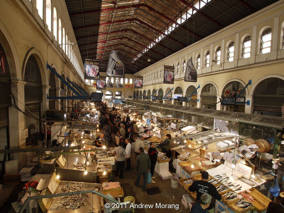 Central Market, Athens, Greece