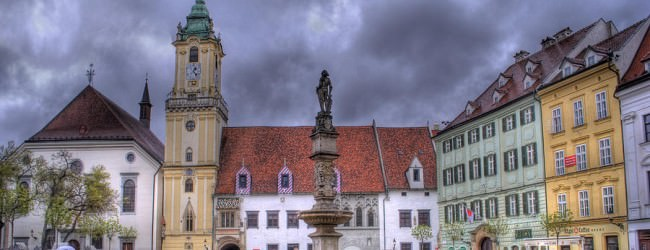 Obiective turistice in Bratislava