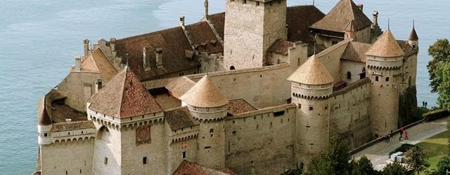 Castelul Chillon face legatura trecutului cu prezentul!