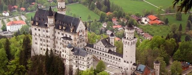 Castelul Neuschwanstein este mandria Germaniei !
