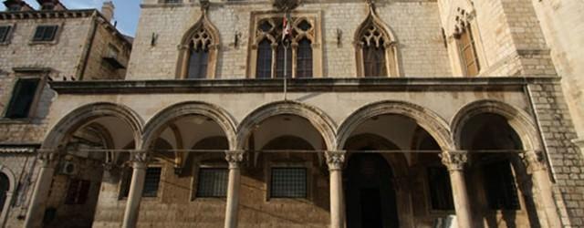 Palatul Sponza – emblema orasului Dubrovnik