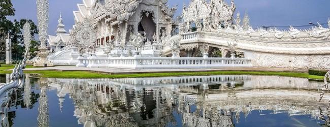 Templul alb din Thailanda