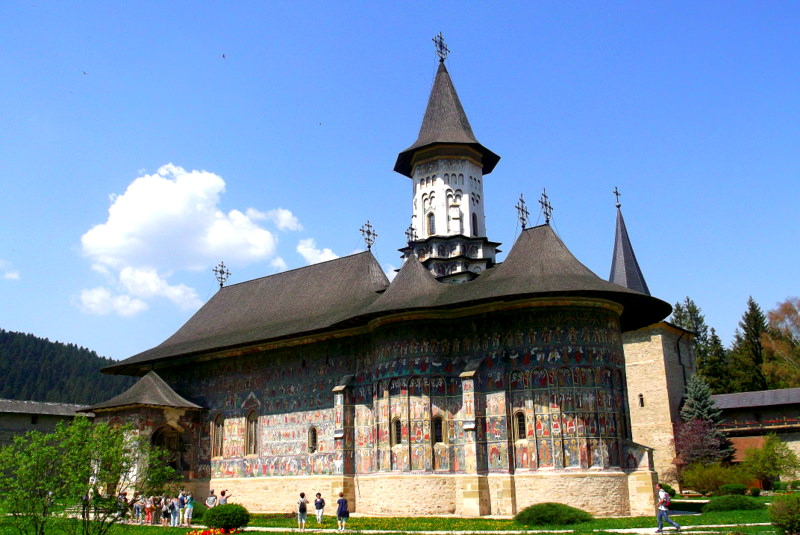 Suczawica_(Sucevita),monaster_obronny,_cerkiew_Zmartwychwstania
