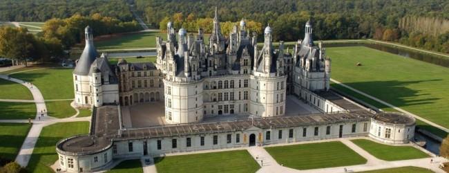 Castelul  Chambord de pe Valea Loarei