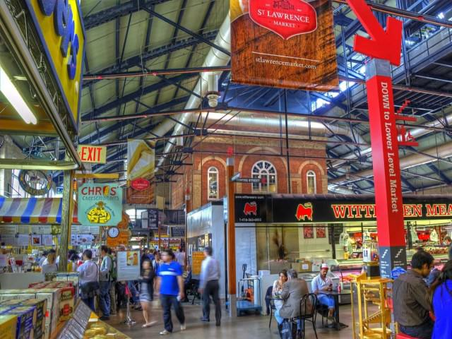 st lawrence market canada