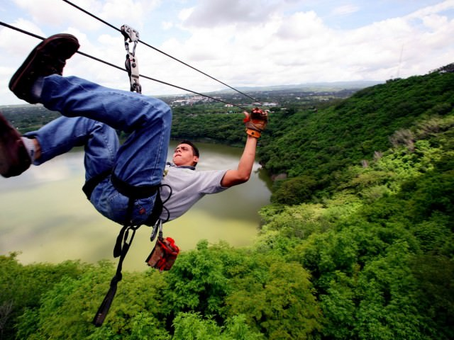 ziplining-is-a-popular-way-to-witness-the-beauty-of-managuas-tiscapa-lagoon-which-is-now-a-nature-reserve-in-nicaragua