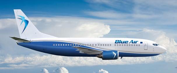 Blue Air introduce noi curse