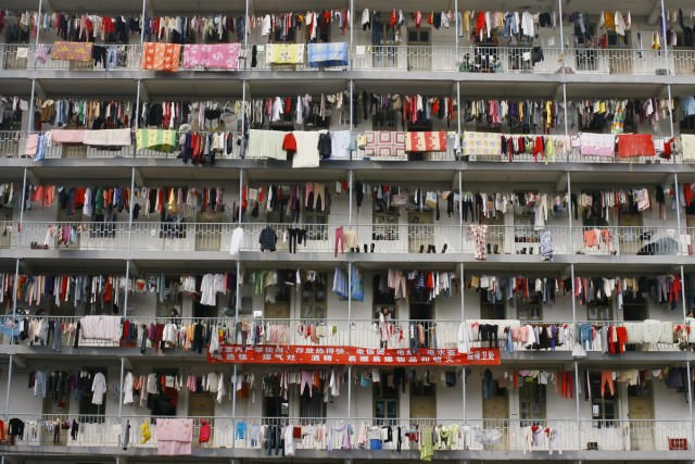 laundry-hangs-outside-student-housing-at-a-university-in-wuhan-hubei-province