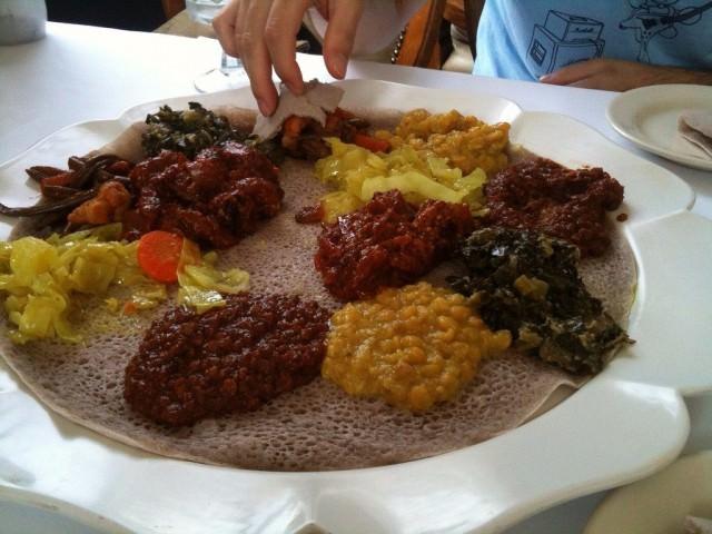 mancare etiopia