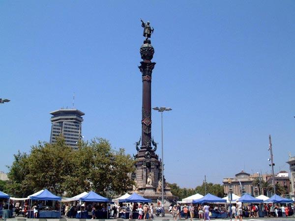 monumentcolumb+barcelona