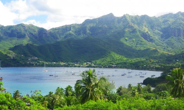The-anchorage-in-Taiohae-Nuku-hiva
