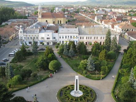 Gherla, primul oraş baroc din România