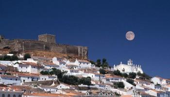 Full Moon Over Mertola, Portugal