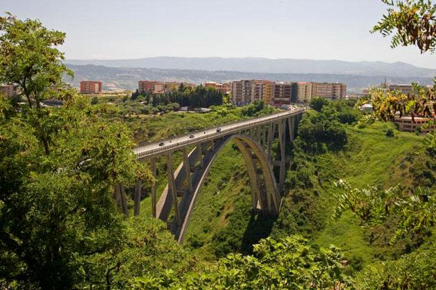 Catanzaro -Viadotto sulla fiumarella