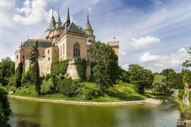 Slovakia-Bojnice-castle