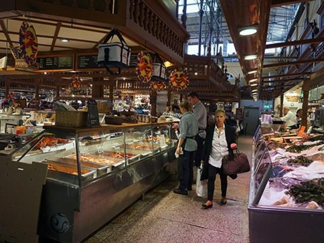 Hotorgetshallen Market Hall