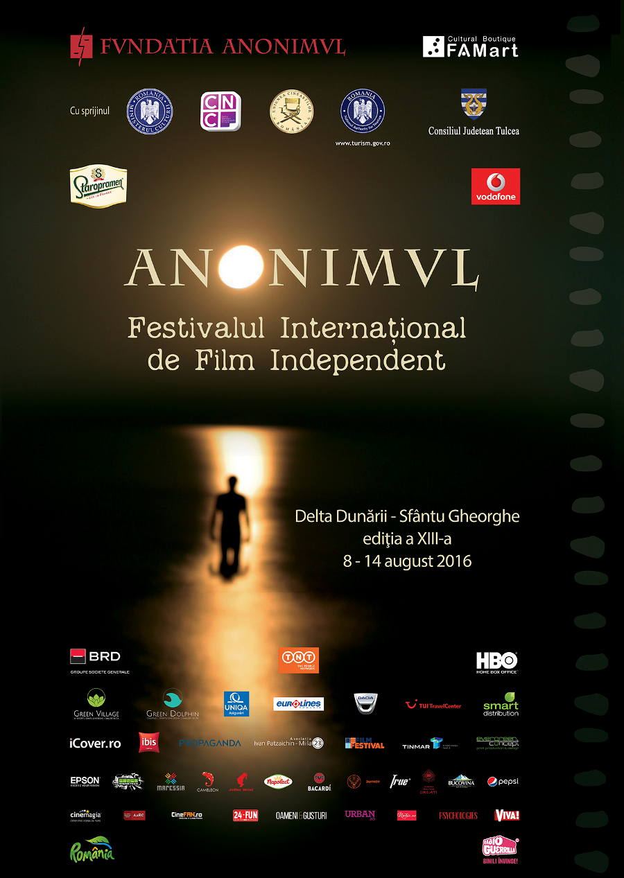 Festivalul de Film Anonimul, 8-14 august