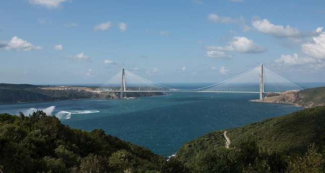 Podul Yavuz Sultan Selim, inaugurat pe 26 august