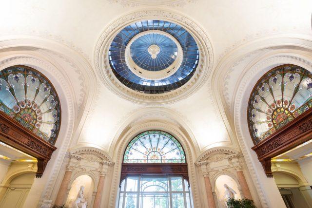 France, Evian les Bains. Palais Lumière.