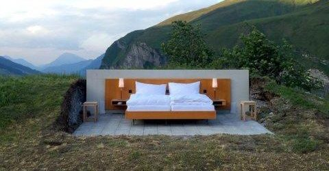 Hotel fara pereti in Alpii Elvetieni