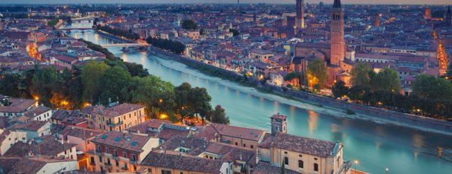 Verona, unul dintre oraşele italiene celebre