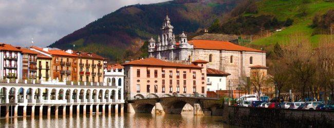 Oraşul Tolosa din Ţara Bascilor, Spania