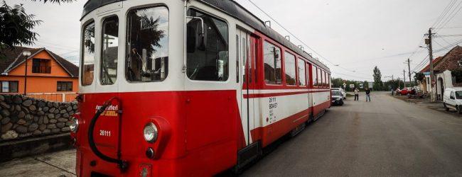 Tramvai turistic, din 12 ianuarie pe ruta Sibiu-Rășinari