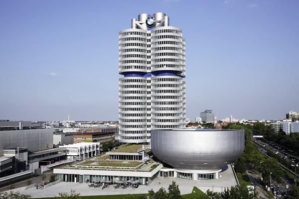 BMW Hochhaus und BMW Museum 2008