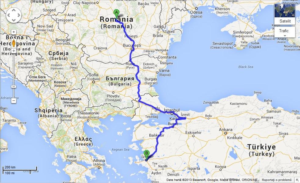 harta turcia kusadasi Excursie prin Izmir   cel mai frumos oras al Turciei   Travelica harta turcia kusadasi