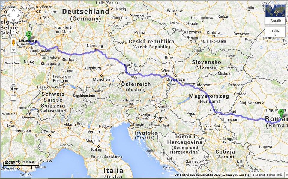 Luxemburg Un Oras Mic Si Cochet Travelica
