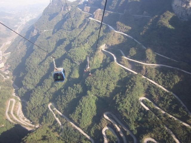 chinas-tianmen-shan-cable-car-ferries-visitors-from-zhangjiajie-to-the-summit-of-tianmen-mountain-at-a-distance-of-24458-feet-its-been-dubbed-the-longest-cable-car-ride-in-the-world