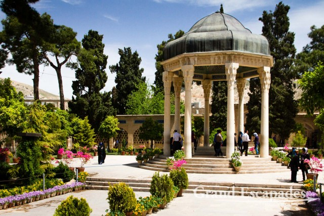 The Tomb of Hafez, in memory of the celebrated Persian poet Hafez, Shiraz, Iran