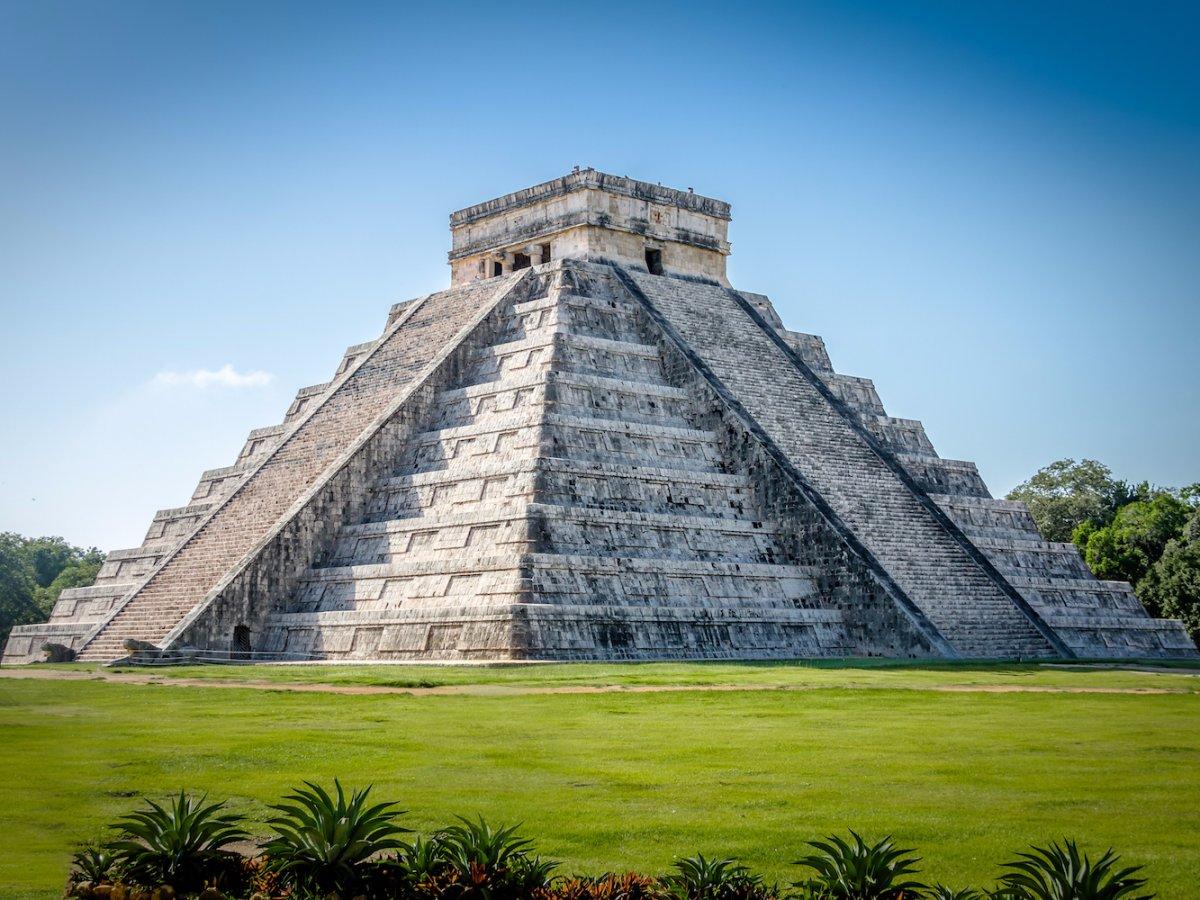 Piramida Kukulcan in Chichen Itza